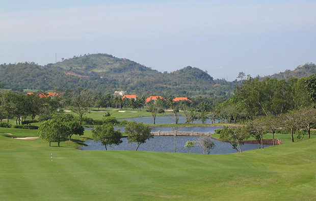 lakes,  burapha golf club, pattaya, thailand