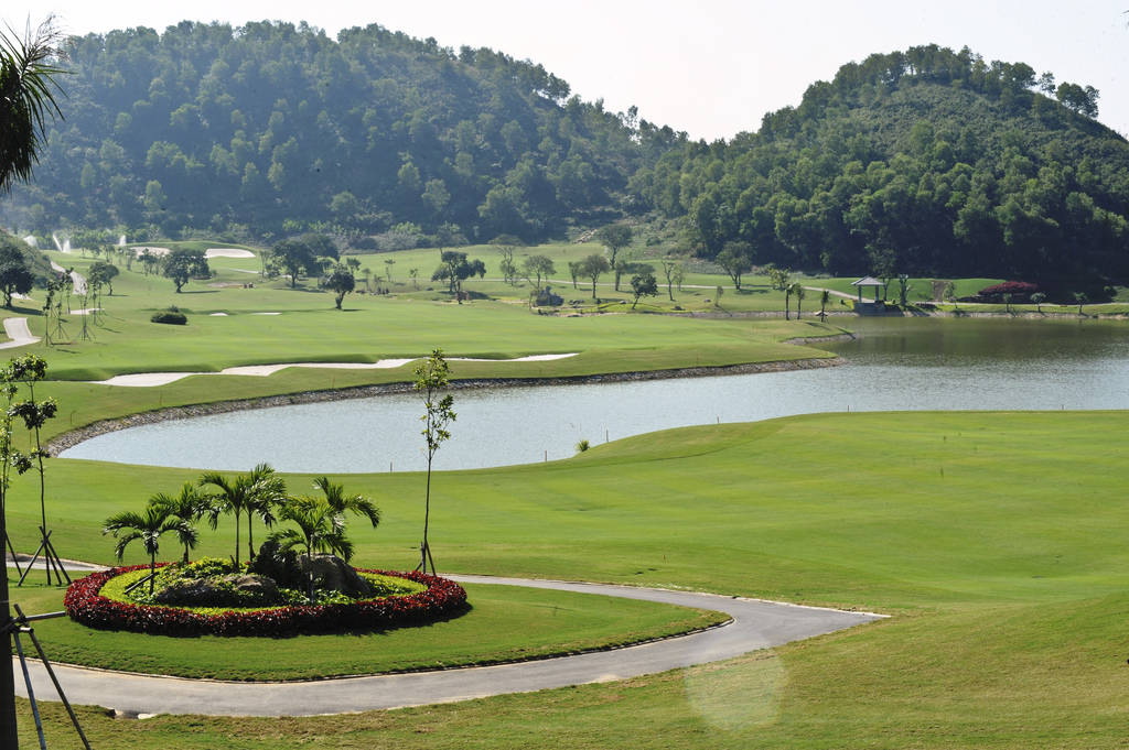 lake, royal golf club, hanoi, vietnam
