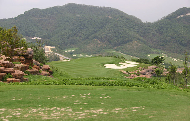 mountain view annika course mission hills, guangdong china