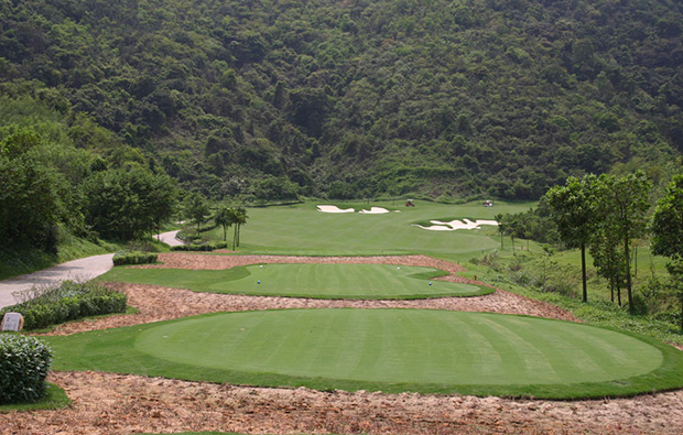 green view annika course mission hills, guangdong china