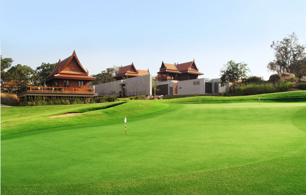clubhouse , banyan golf club, hua hin, thailand