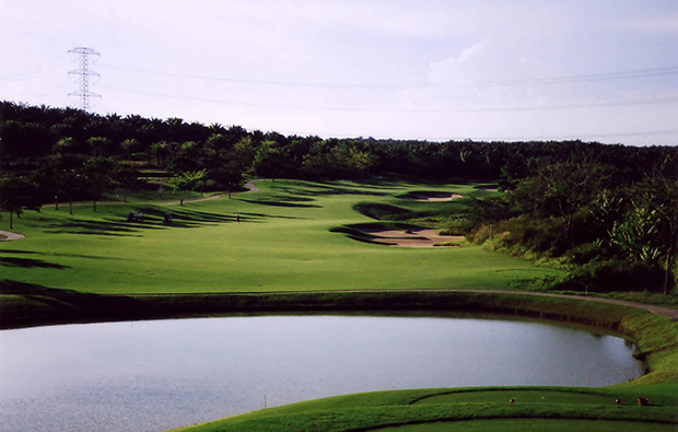 view over The Legends Golf Resort, johor, malaysia