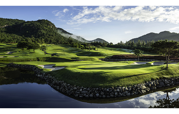 Dawn at Black Mountain Golf Club in Hua Hin