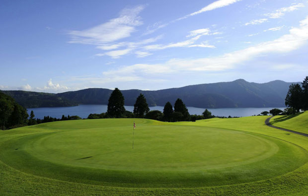 Hakone-en Golf Course Green