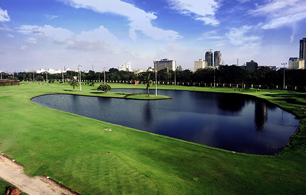 Lake at Club Intramuros Golf Course, Manila, Philippines