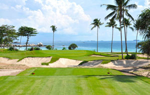 green besdei ocean at  laguna bintan golf club, bintan, indonesia