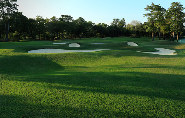 fairway at lam lukka country club, bangkok, thailand