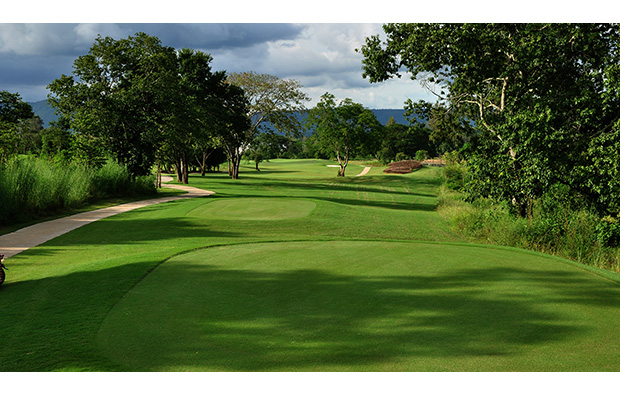 fairway at mountain creek golf resort, khao yai thailand