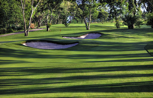 green, siam country club old course, pattaya, thailand