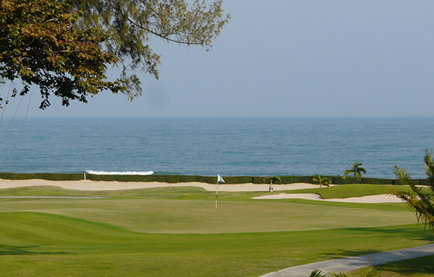 green, Sea Pines Golf Course, hua hin, thailand