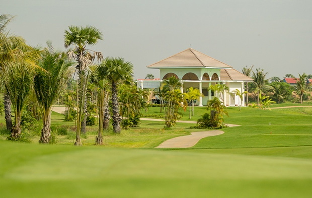 club house garden city golf club, phnom penh, cambodia