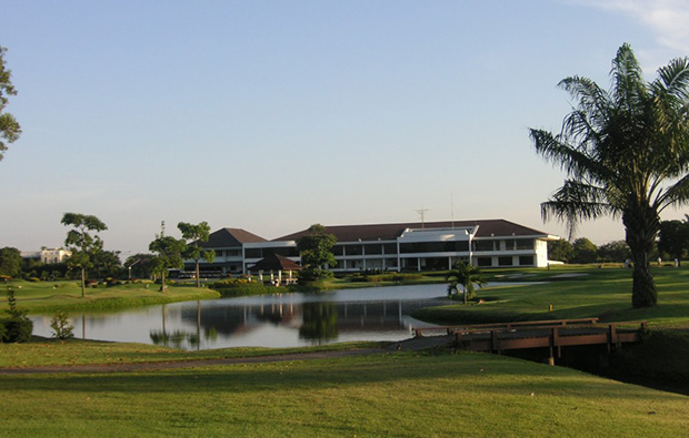 clubhouse, the royal golf country club, bangkok, thailand