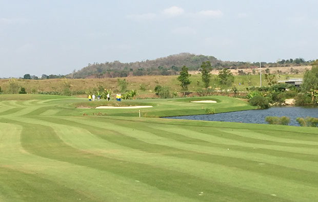 green fairway,s siam country club plantation course, pattaya, thailand
