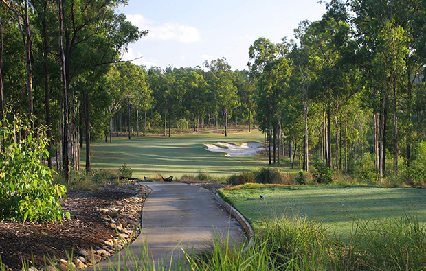 Par 3 Brookwater Golf Club, Brisbane, Queensland