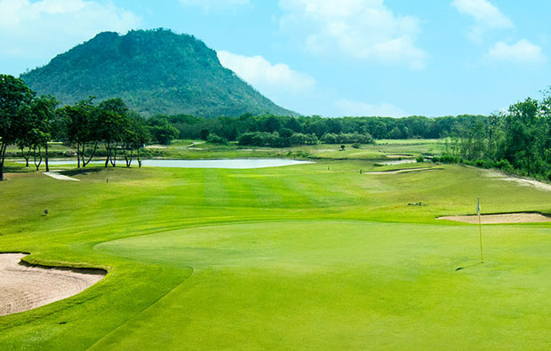 Green at Lakeview Resort & Golf Club, Hua HIn