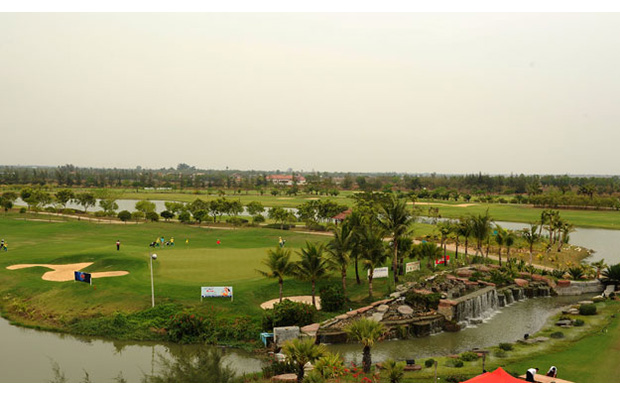 Royal Mingardon Golf Country Club aerial view