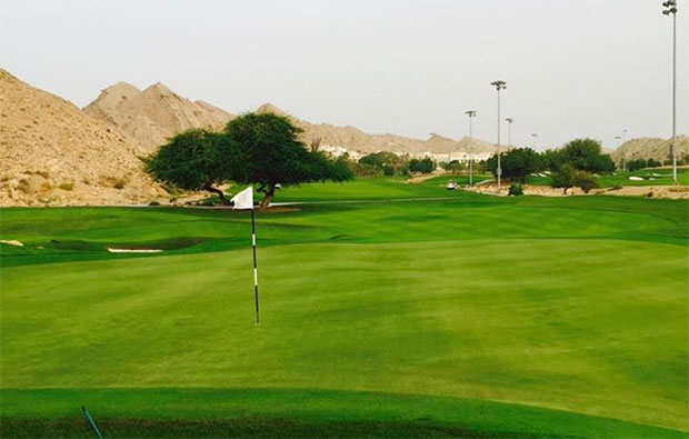 Ras Al Hamra Golf Club Green