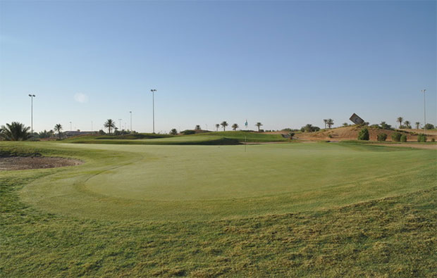 Riyadh Golf Course Approach