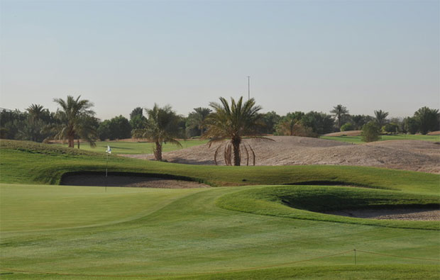 Riyadh Golf Course Green