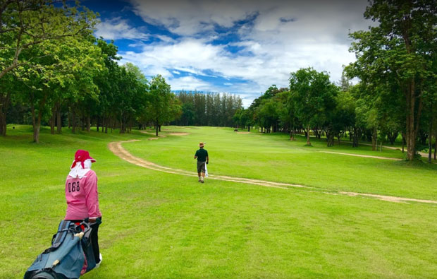 Sawang Resort and Golf Course fairway