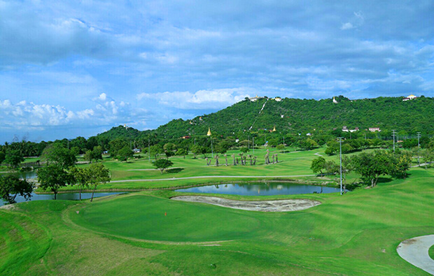 Shwe Mann Taung Golf Resort green