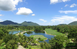 creek,  springfield country club, hua hin, thailand