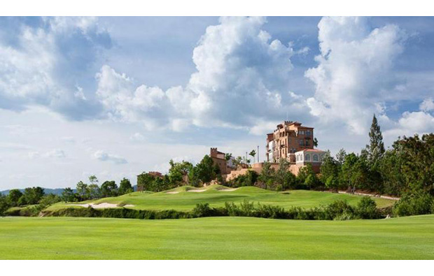 club house at khao yai, toscana valley country club, thailand
