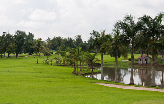 Yangon City Golf Course YCDC water hazard